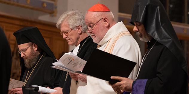 Bild aus Gottesdienst zur Einheit der Christen München Dom 2020